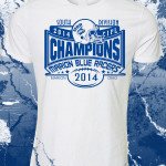 blue racers shirt blue